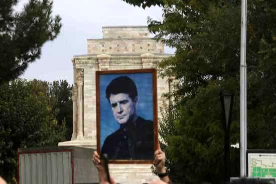 مراسم باشکوه تشییع جنازه استاد شجریان در مشهد + تصاویر
