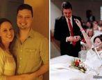 مرگ تلخ عروس جوان چند ساعت پس از ازدواج در کنار همسرش + عکس