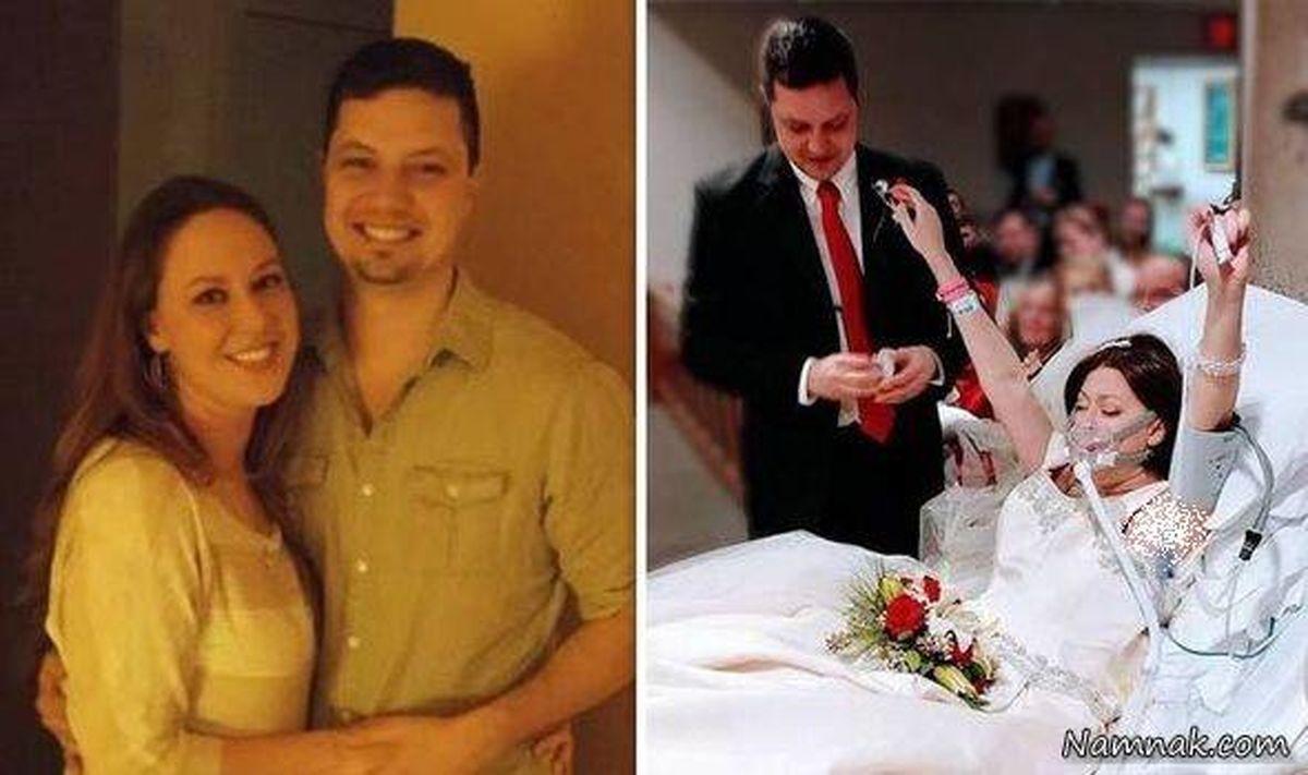 مرگ تلخ عروس جوان چند ساعت پس از ازدواج در اغوش همسرش + عکس
