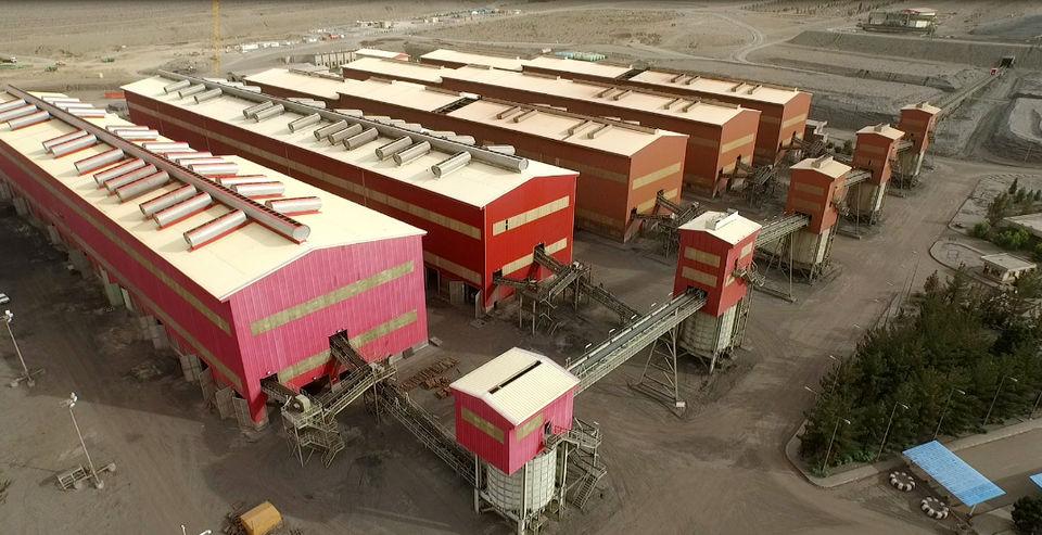 تولید کنسانتره از مرز10 میلیون و 569 هزارتن عبور کرد