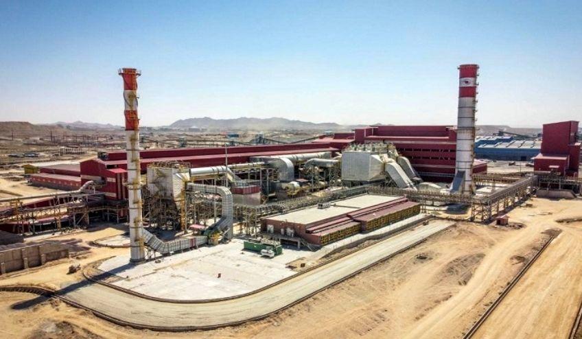 کارخانه گندله سازی شرکت سنگ آهن گهر زمین فردا به بهرهبرداری می رسد