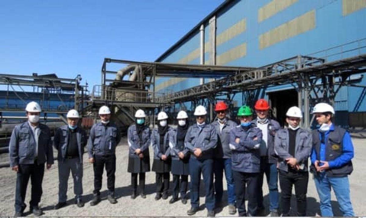 بازدید اعضاء کمیته حسابرسی شرکت فولاد خوزستان از کارخانجات شرکت سیمیدکو