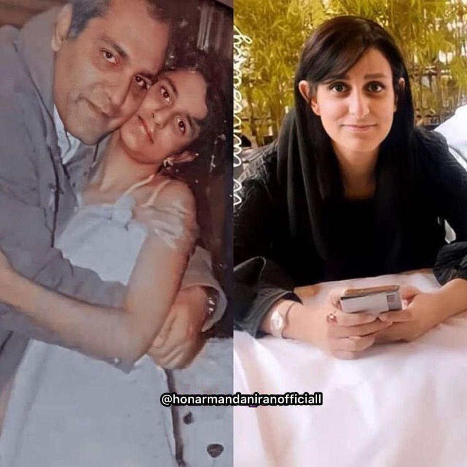 مهران مدیری در کنار دختر جوان   عکس