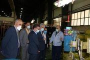 بازدید مدیرکل تامین اجتماعی استان  از مجتمع صنایع لاستیک یزد