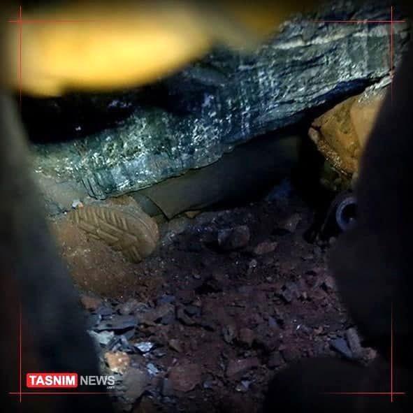 ۲ کارگر در حادثه ریزش معدن نیلچیان جان باختند