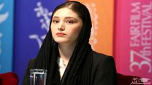 ابراز عشق و علاقه فرشته حسینی به نوید محمدزاده