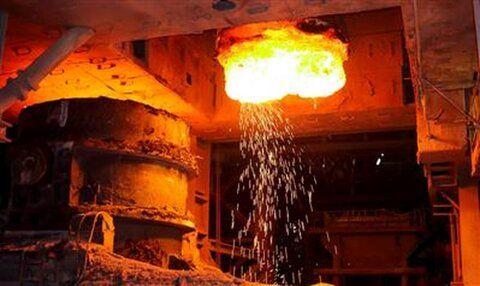 تولید بیش از ۸۰۰ هزار تن محصول گاززدایی در فولاد مبارکه