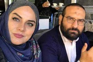 نرگس آبیار  ماجرای جالب ازدواج و عکس با همسرش+ جدیدترین تصاویر