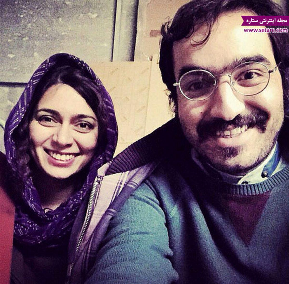 عکس لورفته و جنجالی از پگاه اهنگرانی در اغوش بازیگر سرشناس + تصاویر دیده نشده