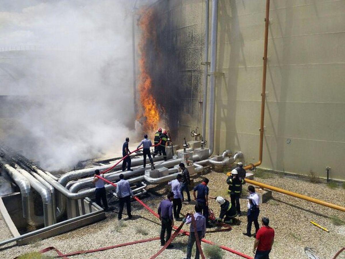توضیح روابط عمومی پویا انرژی در خصوص حادثه آتش سوزی نیروگاه سمنان
