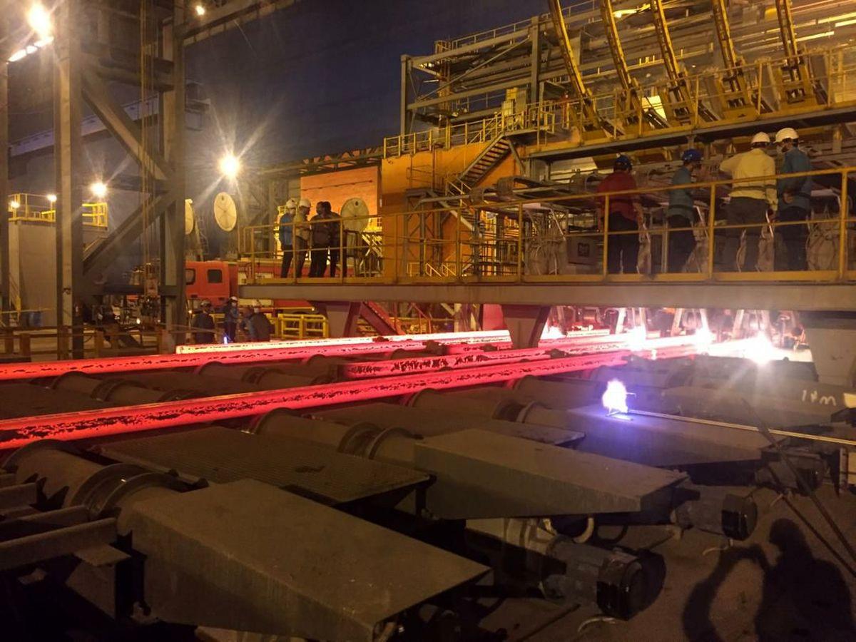 بهره برداری از ریخته گری و شمش فاز ۲ شرکت فولاد کاوه جنوب کیش با موفقیت انجام شد