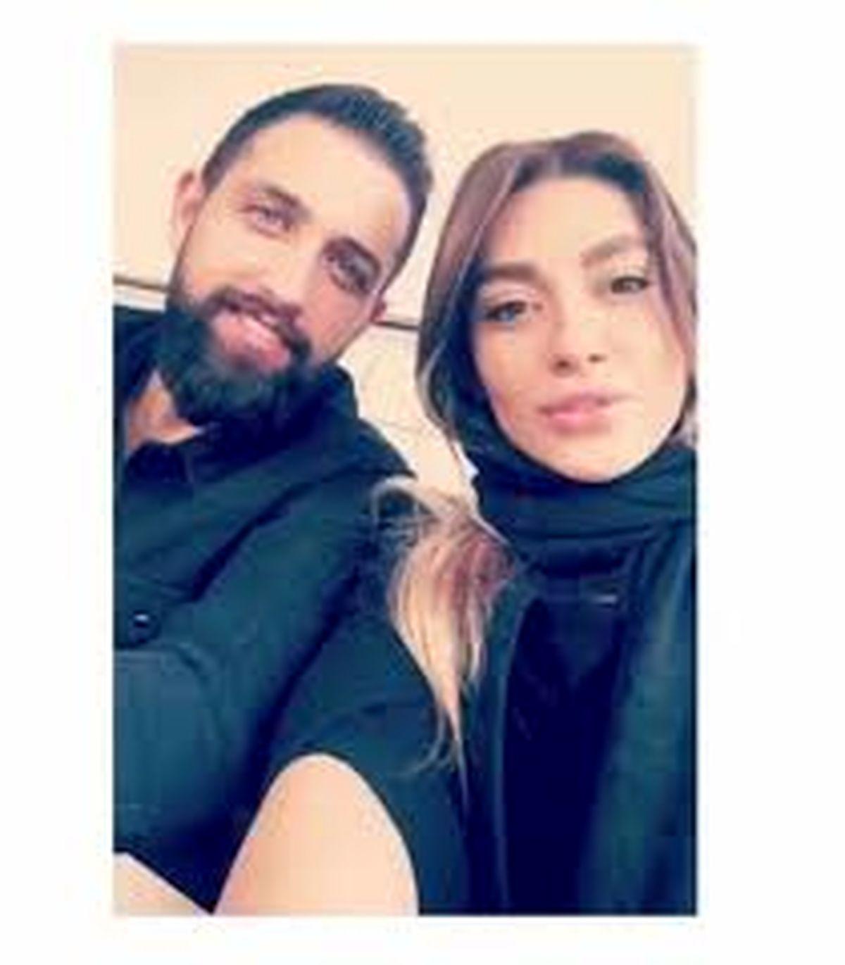 محسن افشانی از عشق اولش رونمایی کرد + عکس دو نفره