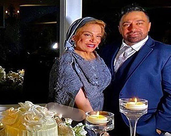 عکسهای ابی در عروسی دختر گوهر خیر اندیش در آمریکا