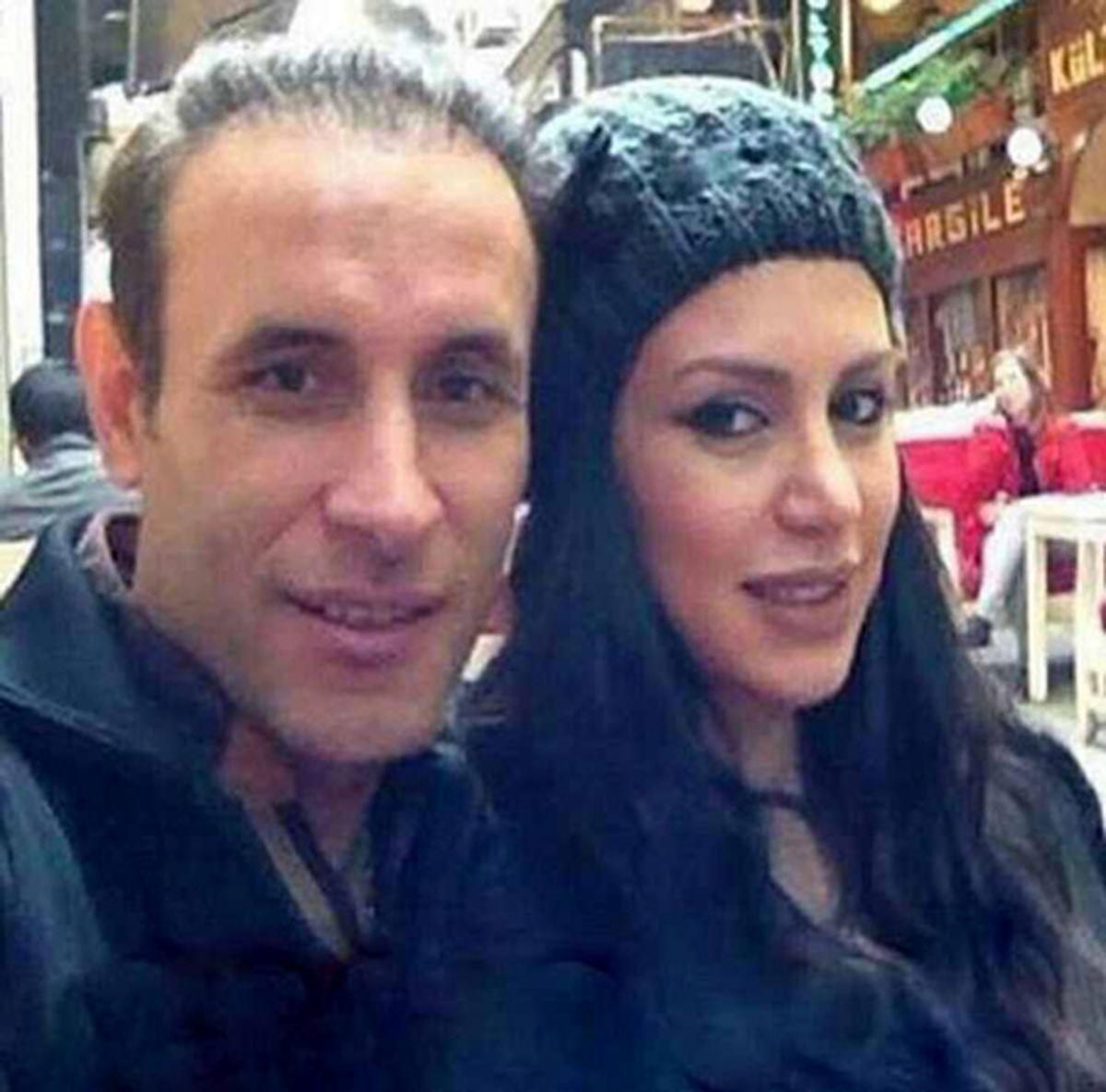 عکس لورفته از یحیی گل محمدی سرمربی پرسپولیس و همسرش در مهمانی + عکس خصوصی