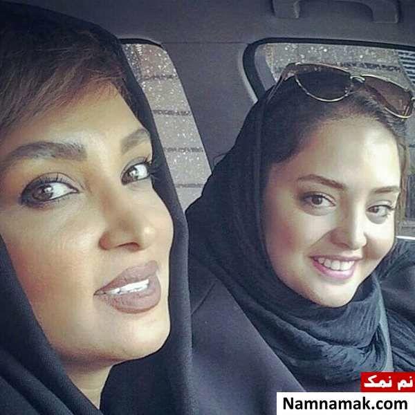 روناک یونسی و نرگس محمدی