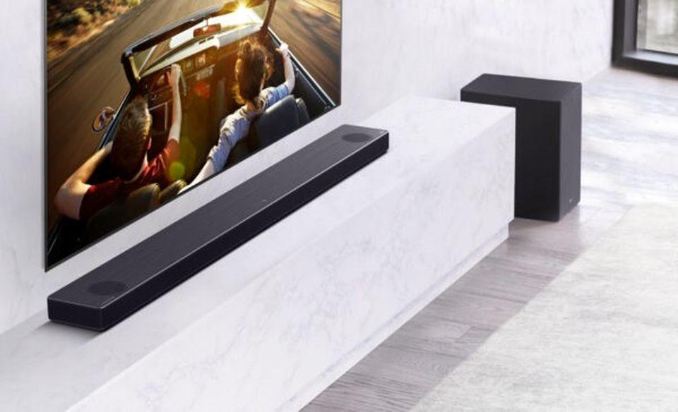 بهبود کیفیت صدا در ساندبارهای الجی، باقابلیت تشخیص ابعاد اتاق