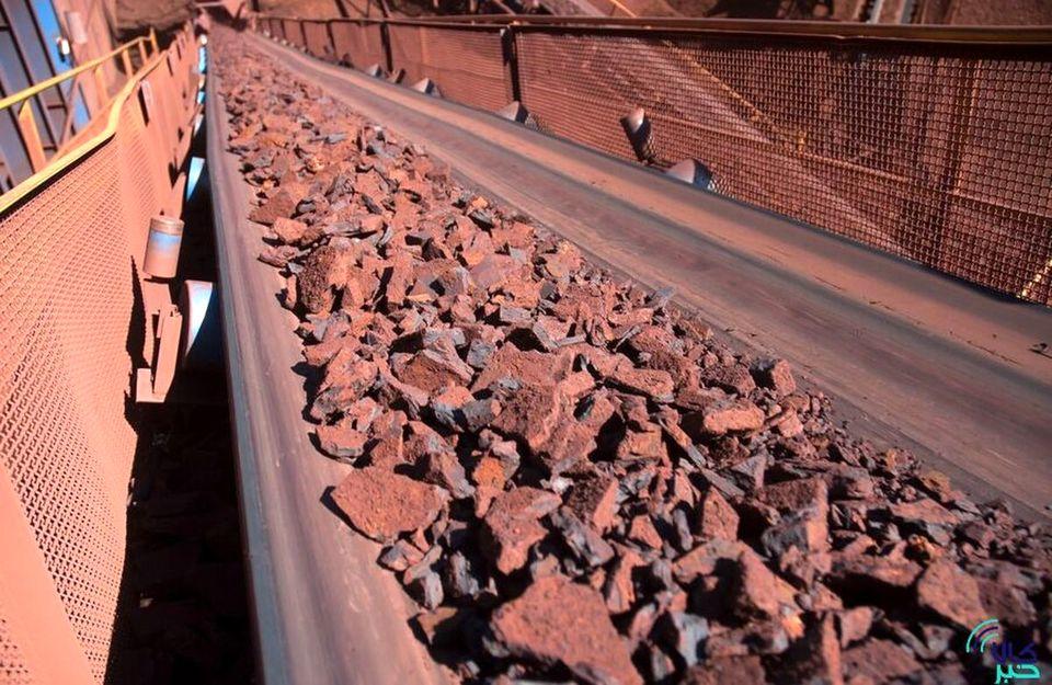تالار حراج باز بورس کالا میزبان عرضه ۳۰۰ هزار تن سنگ آهن