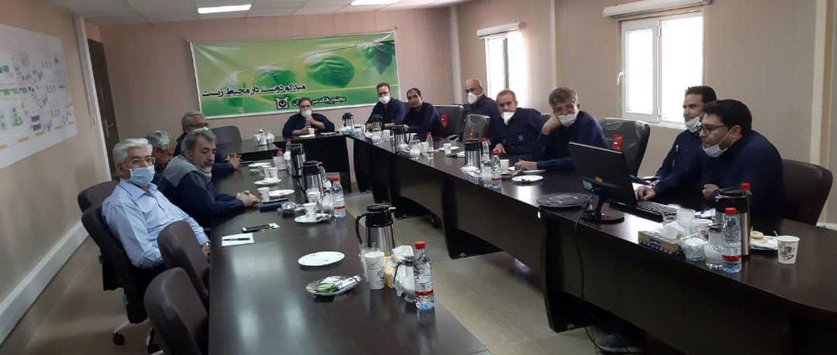 یکصد و بیست و هشتمین جلسه تولید میدکو برگزار شد