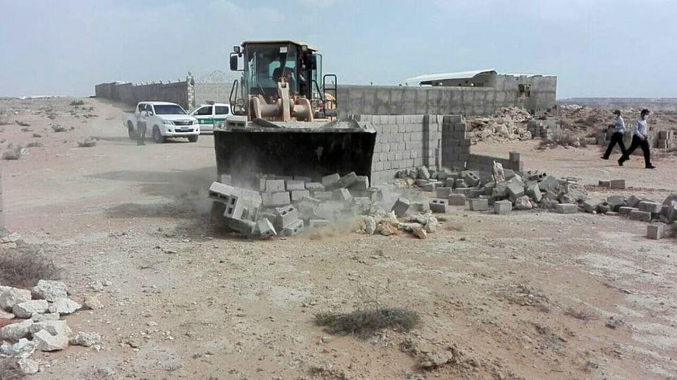 رفع تصرف 4000 مترمربع اراضی خالصه دولتی به ارزش 4 میلیارد ریال در روستای کردوا قشم